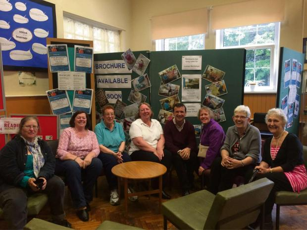 VOICE OF PEOPLE: Vale MP Alun Cairns chats to adult learners