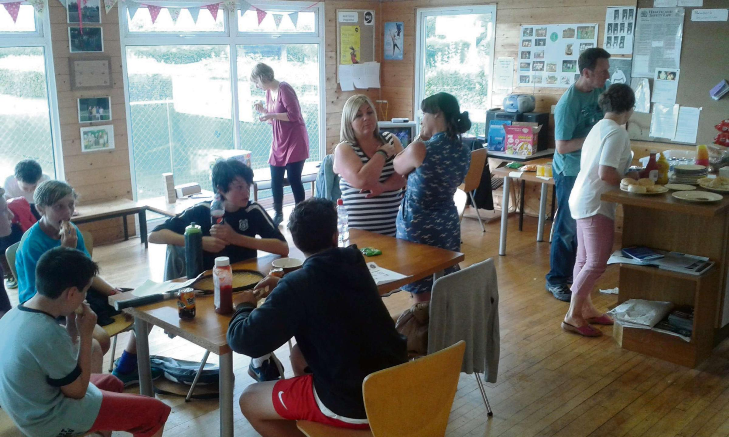 Family Fun Fridays at Barry Tennis Club