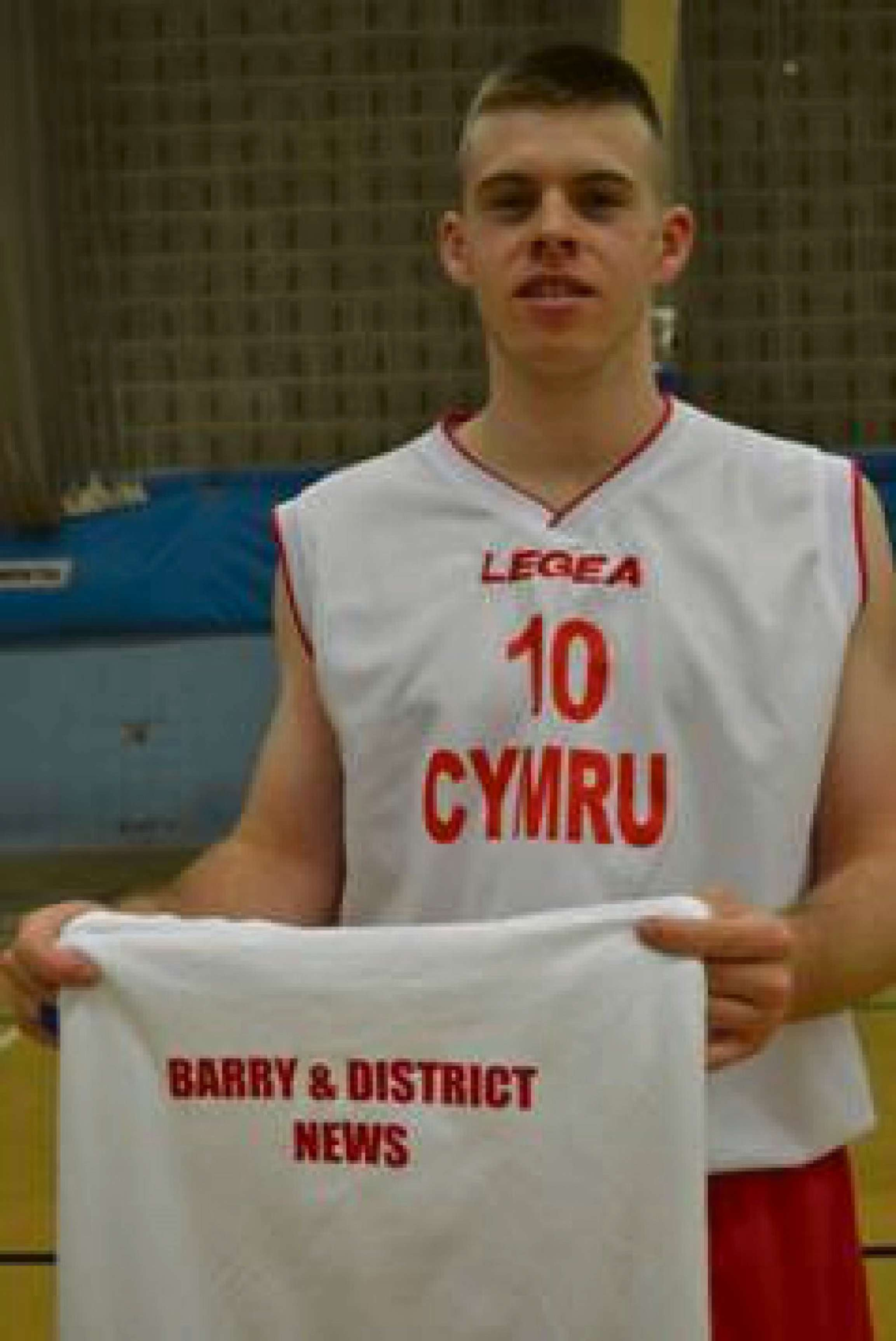 Basketball player heading to European championships