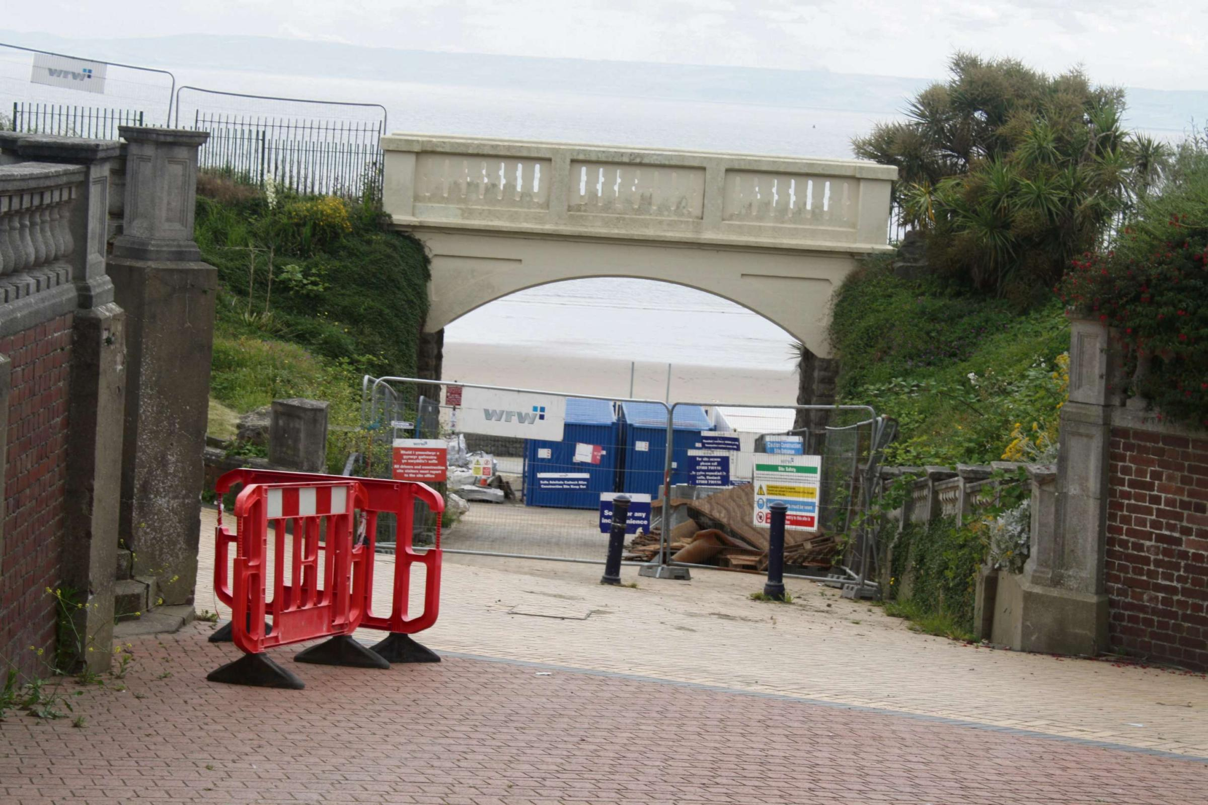Barry Island beach huts will not be ready for summer season