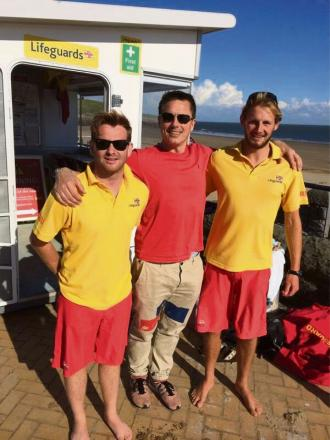 VISIT: Robbie Thompson, John Barrowman and Rhys Phillips
