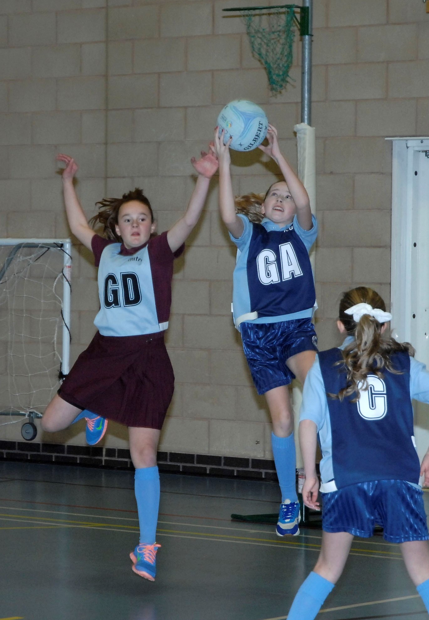 SUMMER SPORT: Netball will be one of the sports featured in a sports and play family fun day at King Square and Central Park, Barry, on Saturday, July 26.