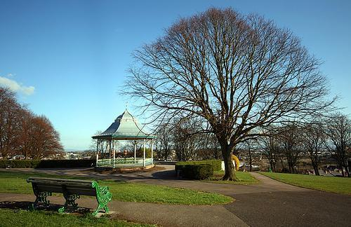 Victoria Park, Barry is one of three local parks to be awarded Green Flag status
