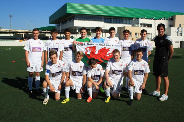 DEVELOPMENT: The PG10 Junior team enjoyed their trip to Barcelona