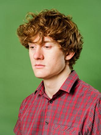 FUNNY: The incredibly funny James Acaster will be performing at the Glee Club
