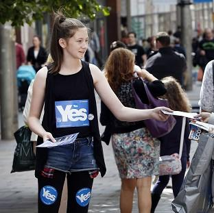 Women For Independence claimed t