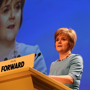 Nicola Sturgeon insisted the Yes campaign was not complacent ahead of the September 18 vote