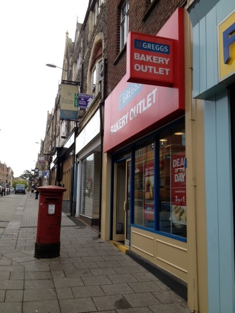 POPULAR: The Bargain Greggs outlet on Holton Road, Barry (9768061)