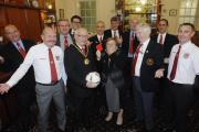 RECEPTION: The mayor held an entertaining evening with the Vale of Glamorgan Referees Society
