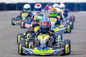 Big numbers at round two of Llandow Kart Club's championship