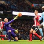 Barry And District News: Willy Caballero impressed on his return to the Manchester City side