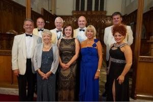 The concert raised £2000 for the church's roof appeal