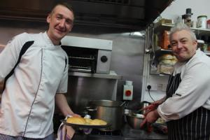 Richard Patterson and Matthew Beck aim to produce culinary delight