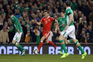 STALEMATE: There was no way through the Ireland defence for Wales' star man Gareth Bale