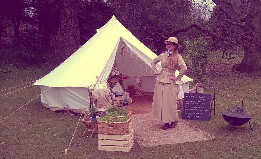 Come dressed as an explorer for a day of adventure at Dyffryn Gardens