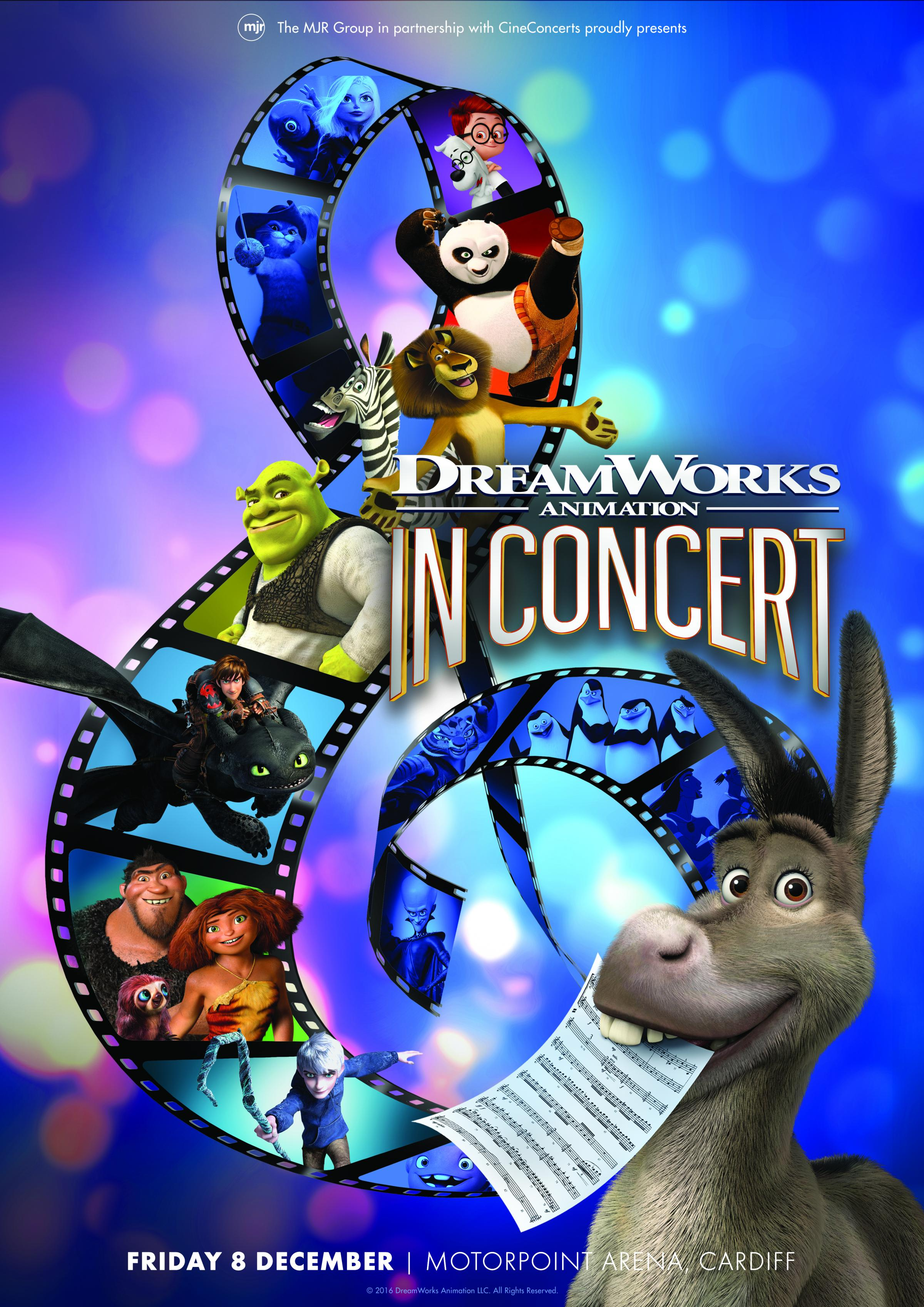 DreamWorks Animation in Concert is heading to Cardiff