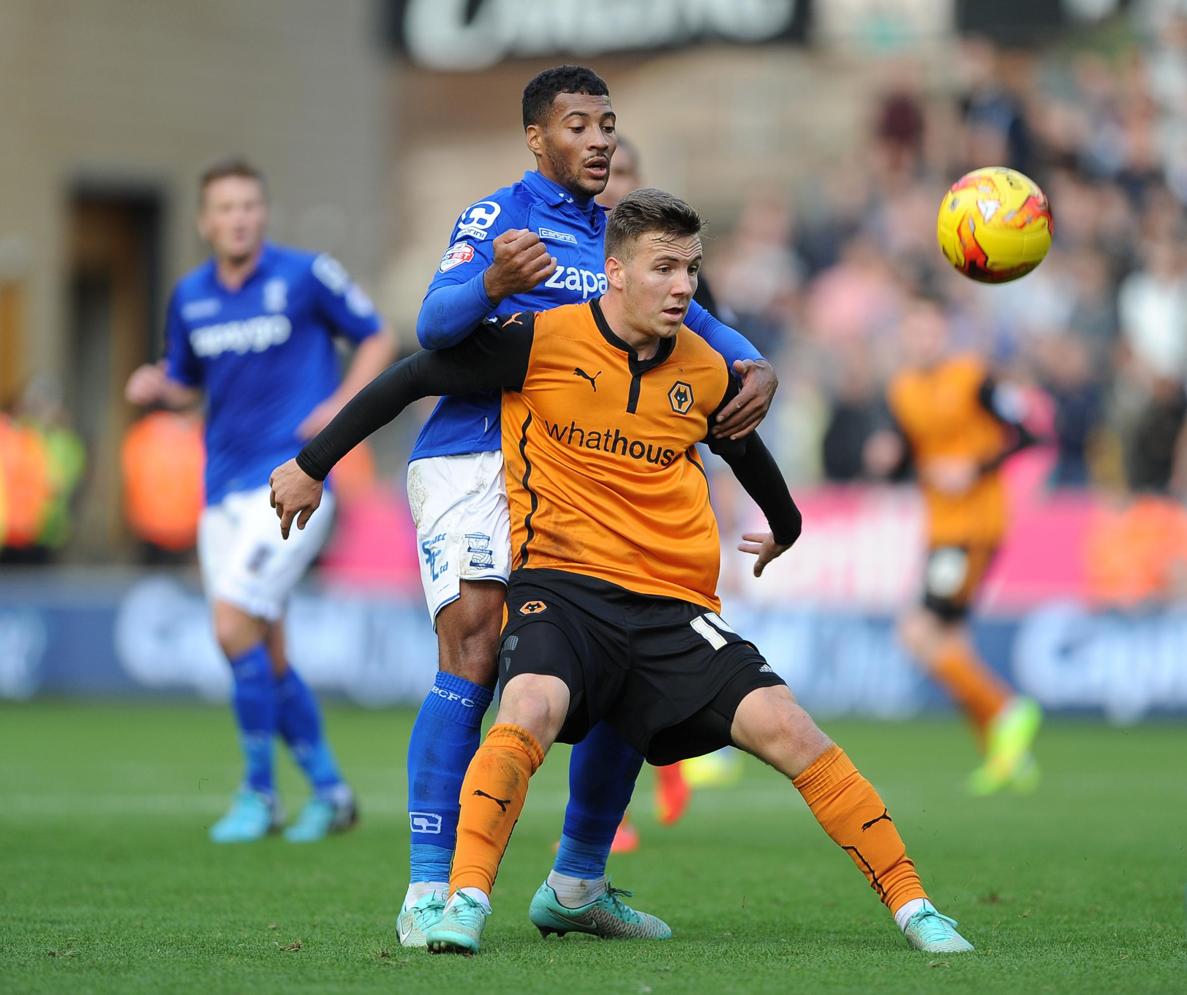FRESH START: Lee Evans has gone to Wigan on loan after being frozen out by Wolves