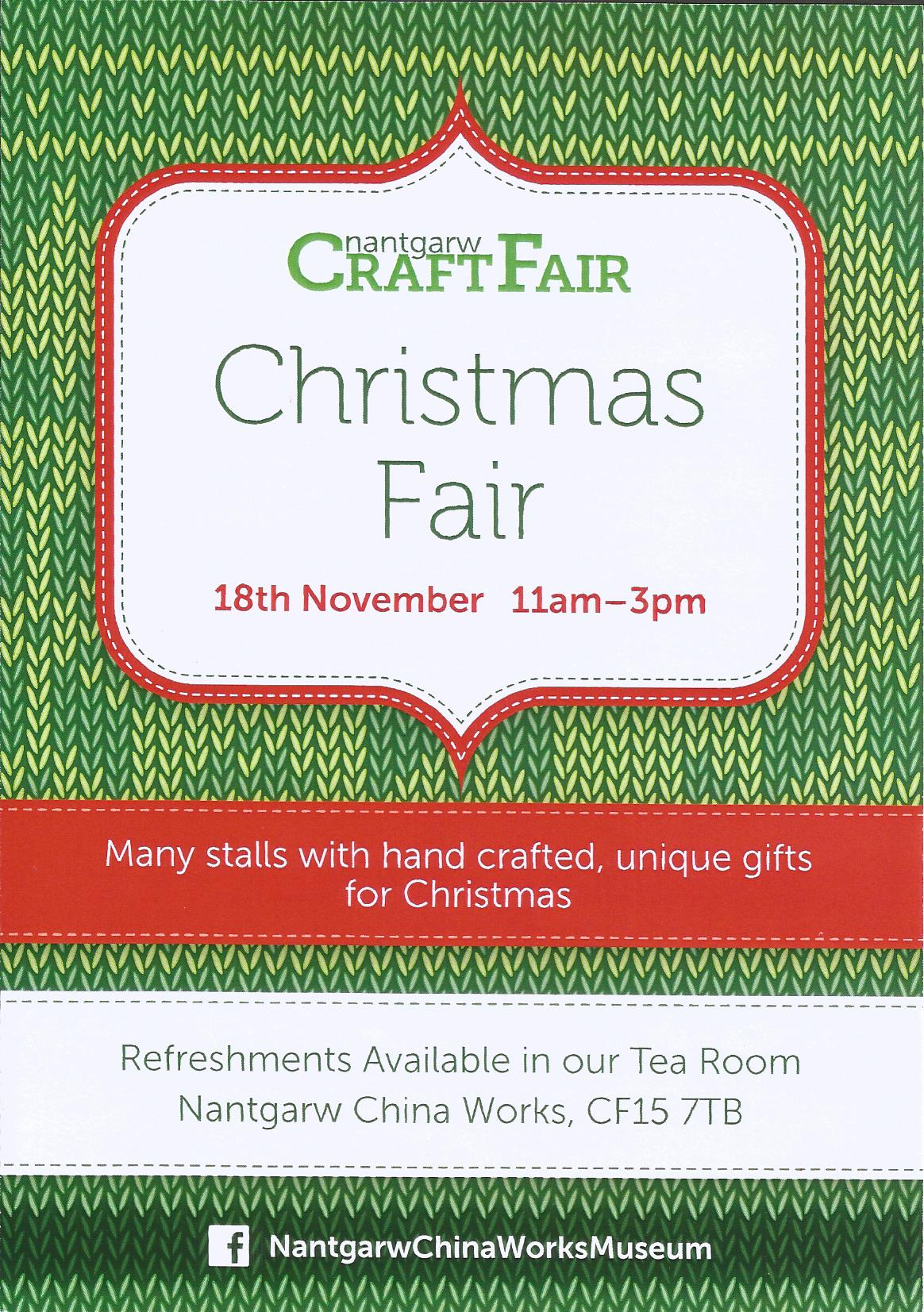 Nantgarw Christmas Craft Fair