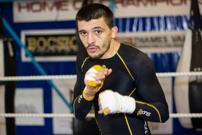HIGH HOPES: IBF world featherweight champion Lee Selby. Picture: www.liamhartery.com