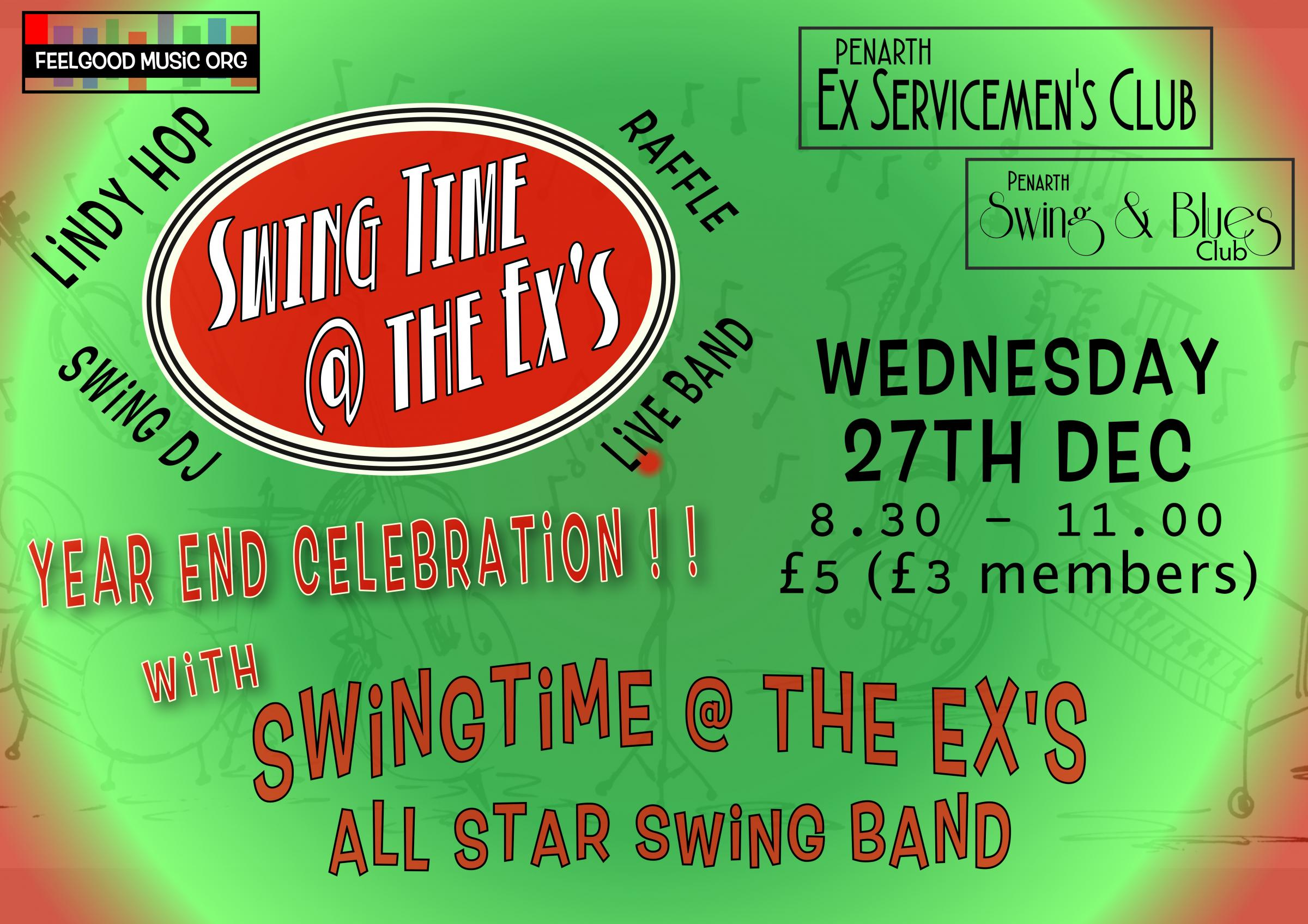 SwingTime @ The Ex's Year End Celebration