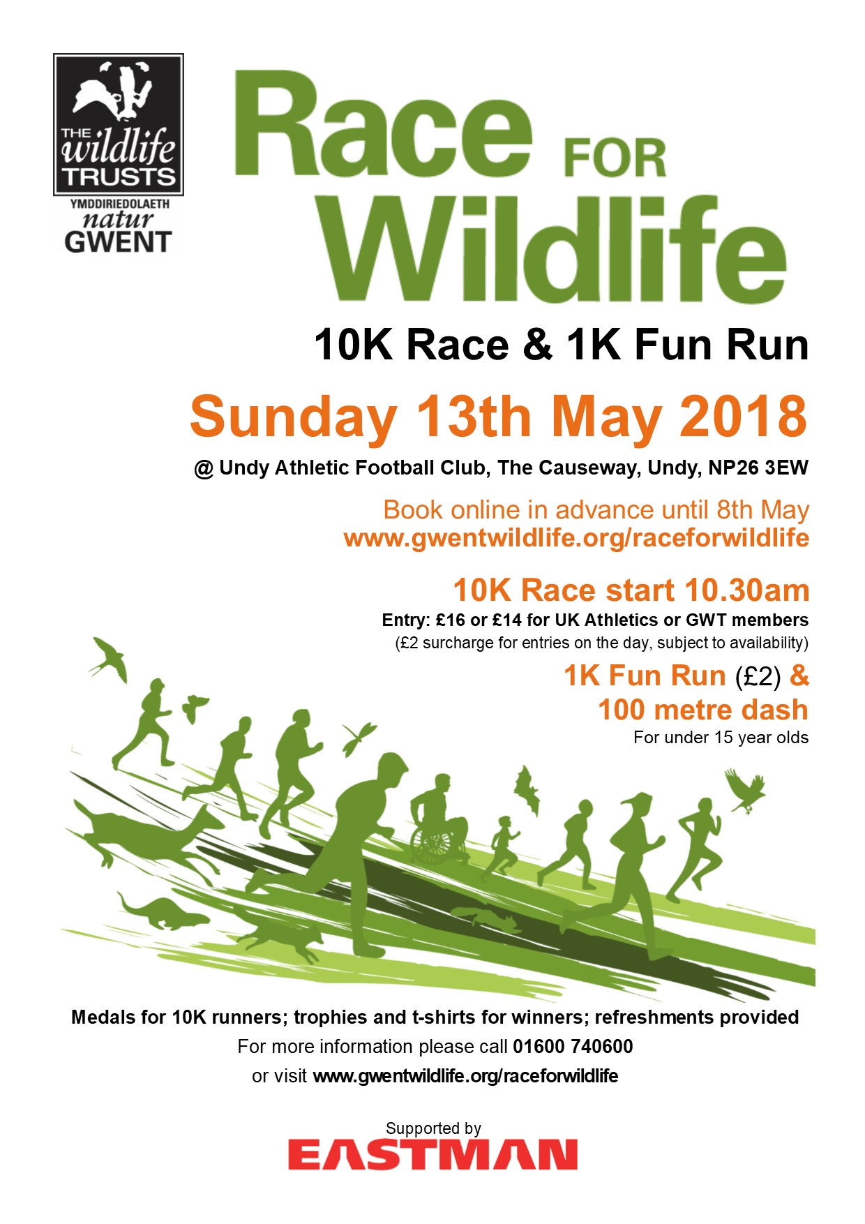 Race for Wildlife 2018