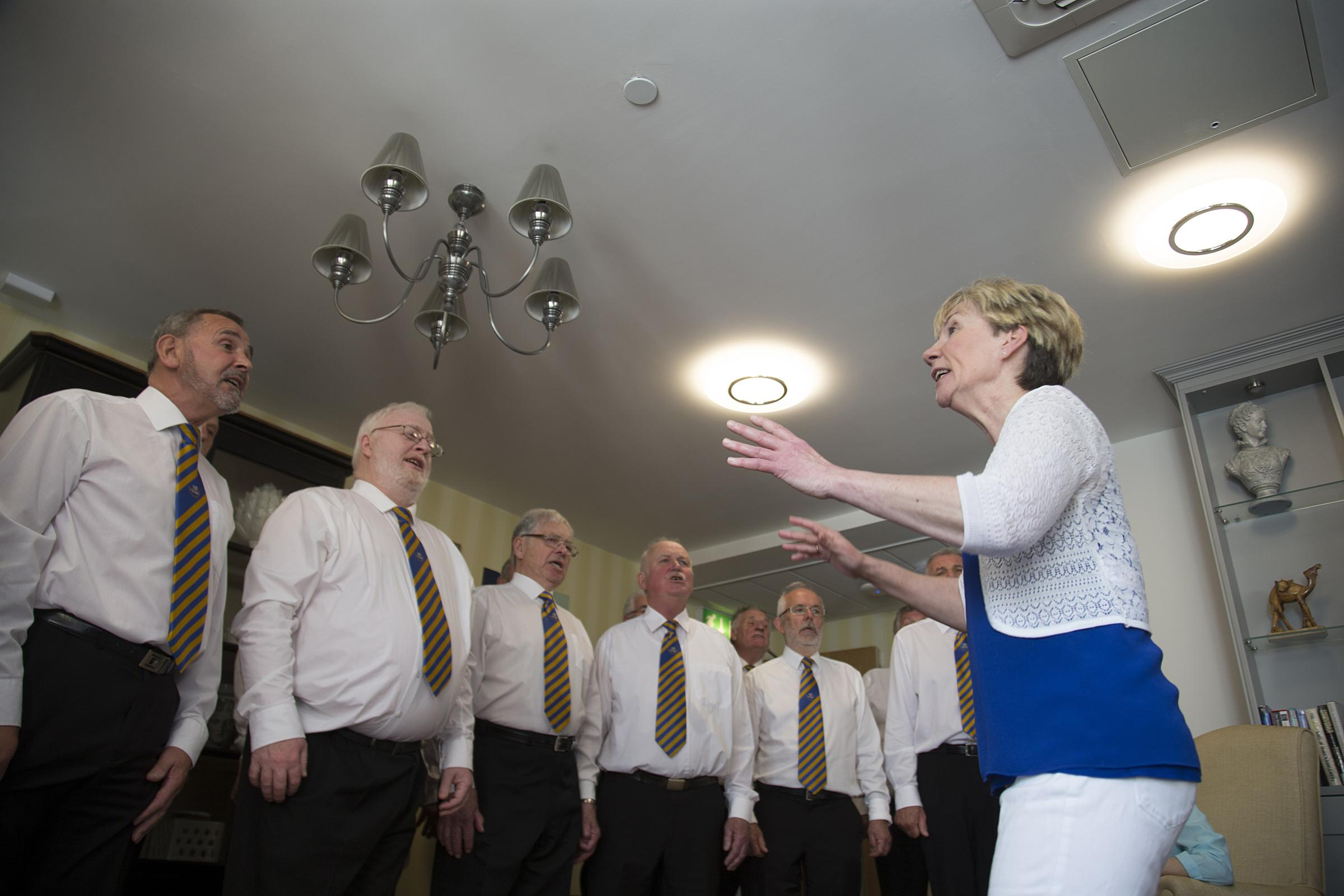 Barry Male Voice Choir at Llandaff Care Home