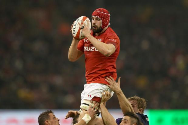 Barry And District News: Cory Hill (pictured) and Ellis Jenkins will lead Wales out (Paul Harding/PA)