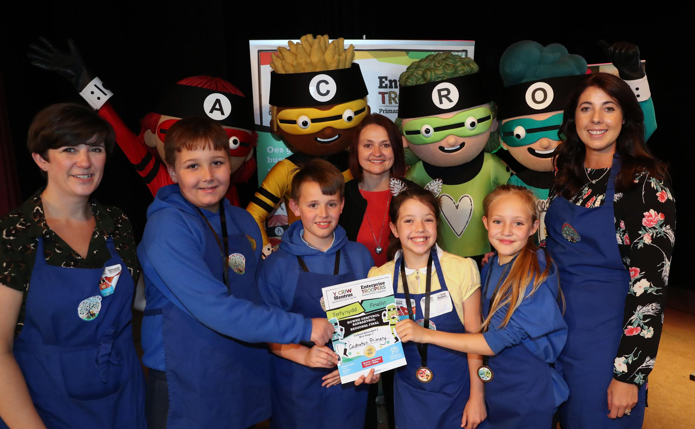 Cadoxton Primary School pupils impressed judges