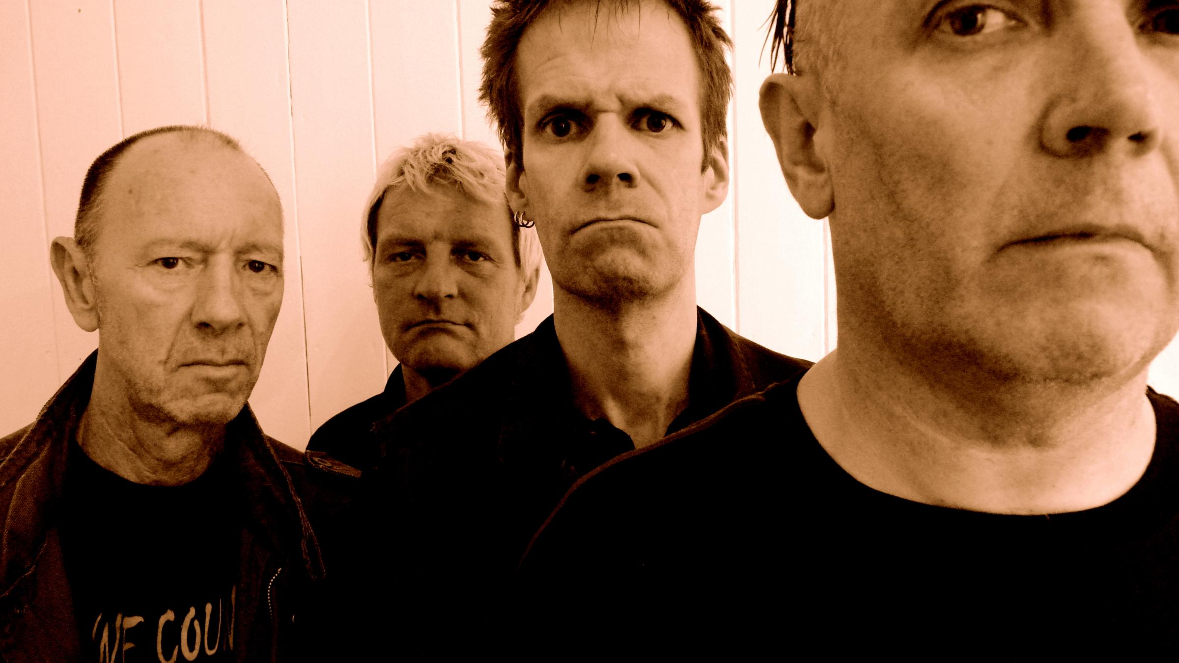 ANNOUNCED: SHAM69 will play at Newport Punk and New Wave Festival Picture: Picasa