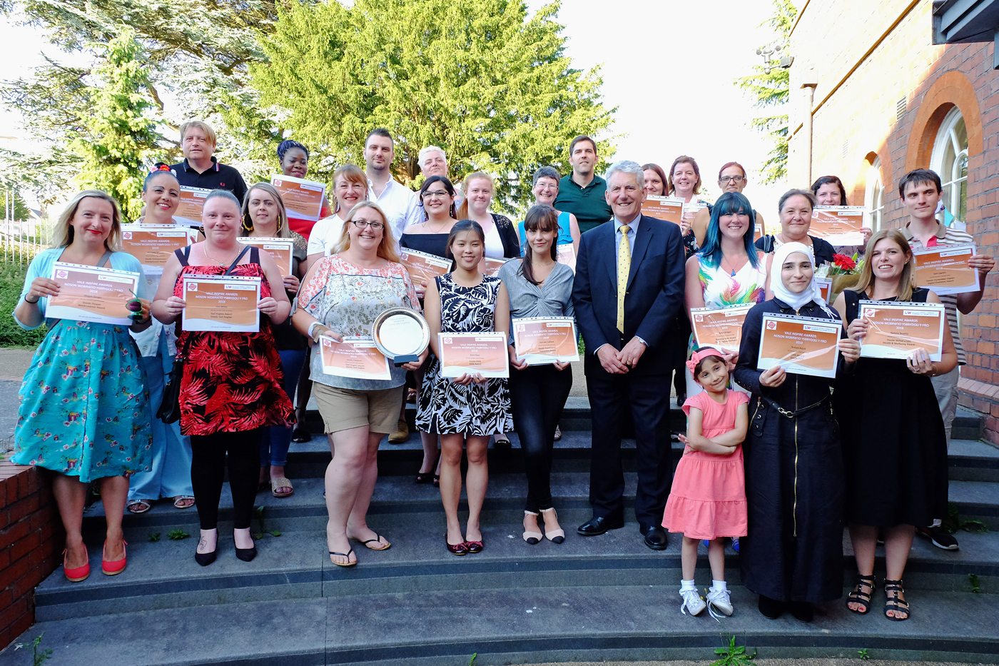 Learners and volunteers are celebrated at awards event
