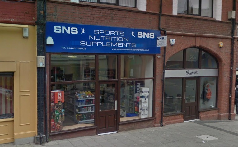 Former Sports Nutrition Supplements in Barry. Credit - Google..png