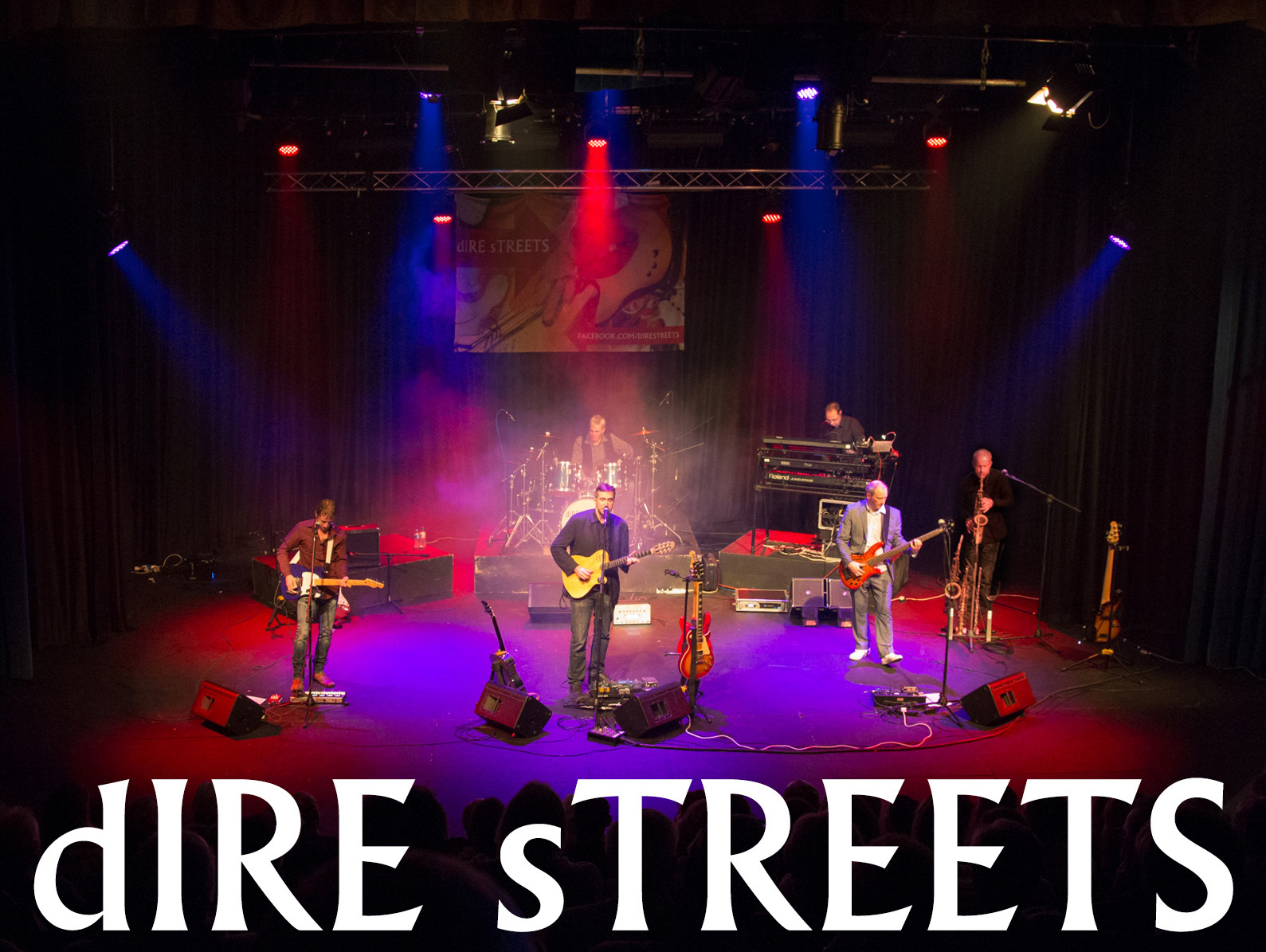 Dire Streets who are performing at Abergavenny's The Borough Theatre on October 20 Picture: Paul Dyer