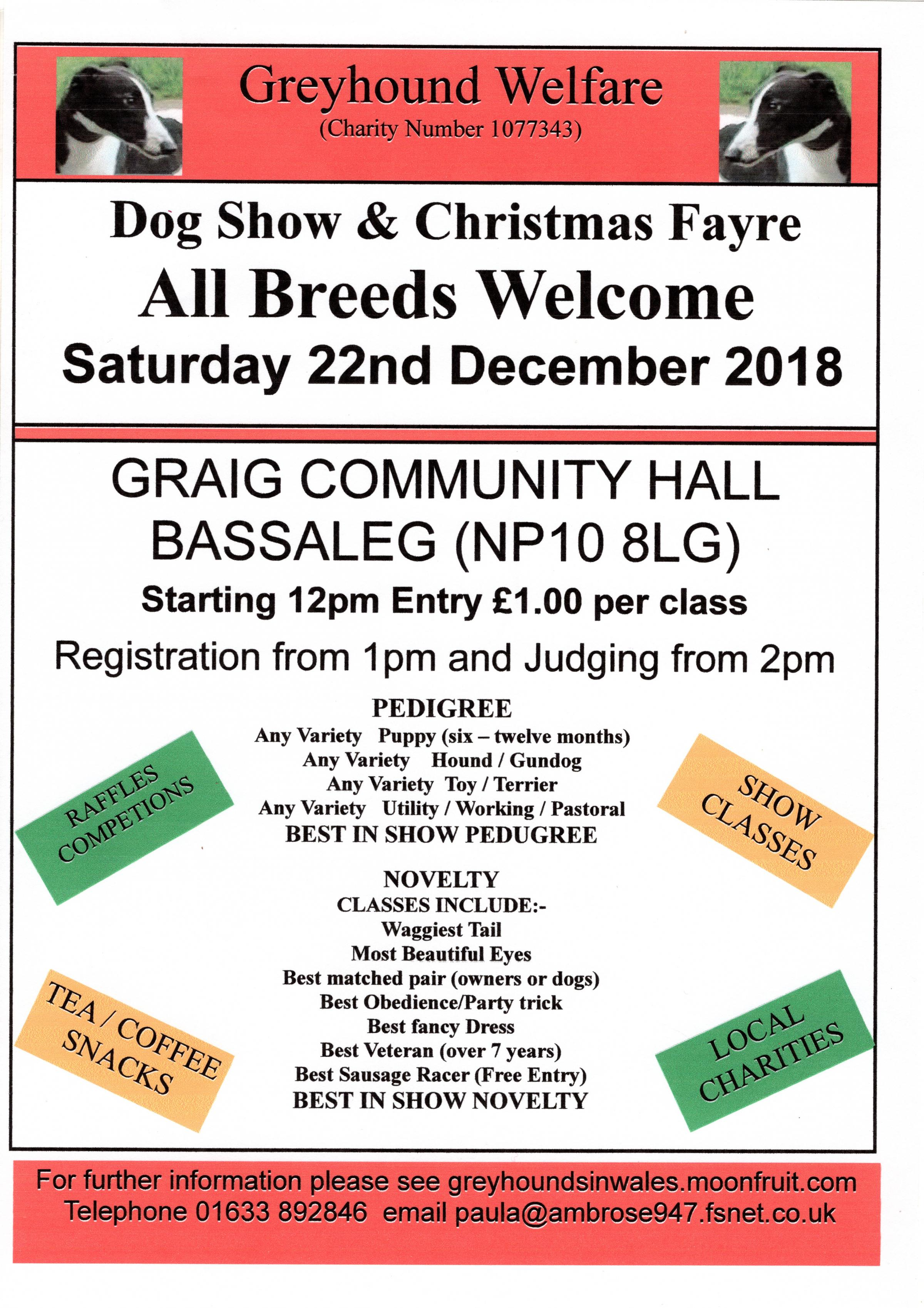 Dog Show and Christmas Fayre