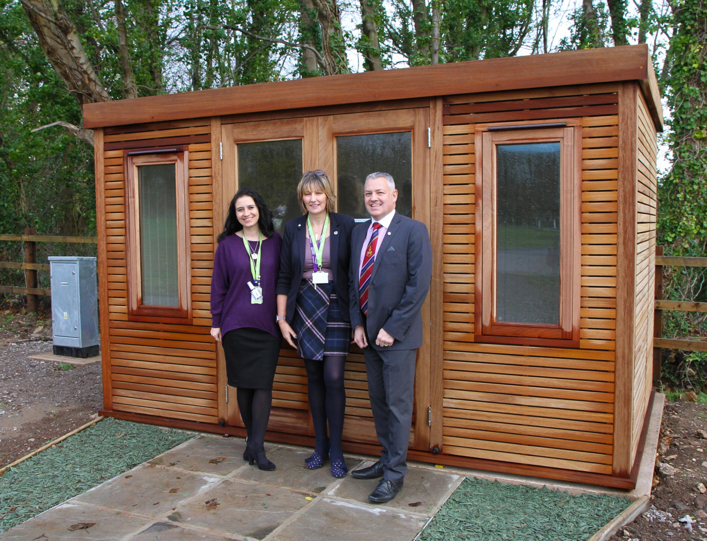 Freemasons assist Ty Hafan with new specialist bereavement service for families