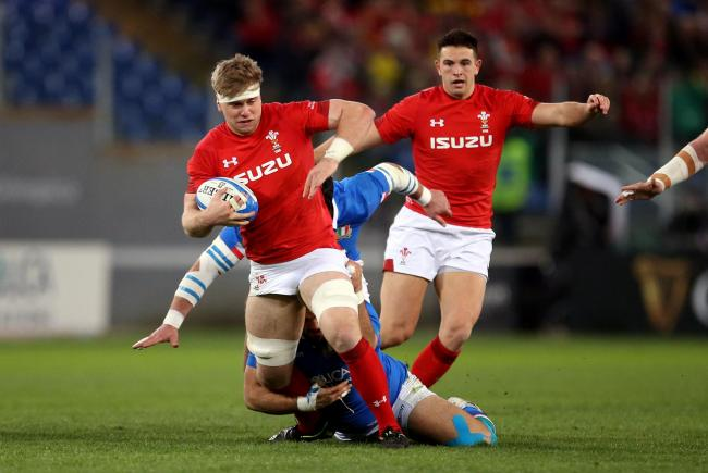 OPPORTUNITY: Dragon Aaron Wainwright made the Wales cut