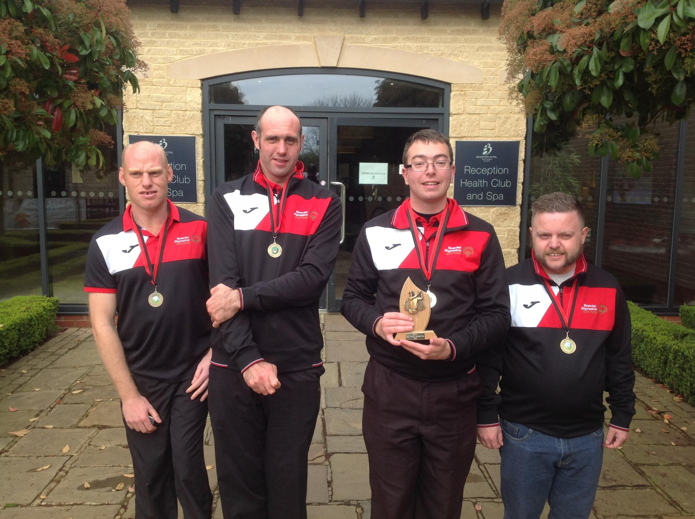 Special Olympics West Midlands golf tournament
