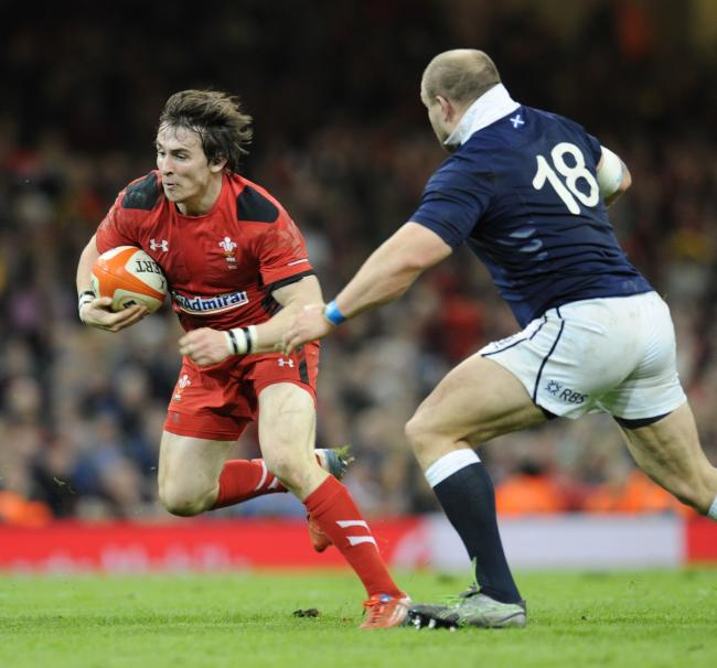 TEST AMBITION: Dragons scrum-half Rhodri Williams is still chasing a return to the Wales squad