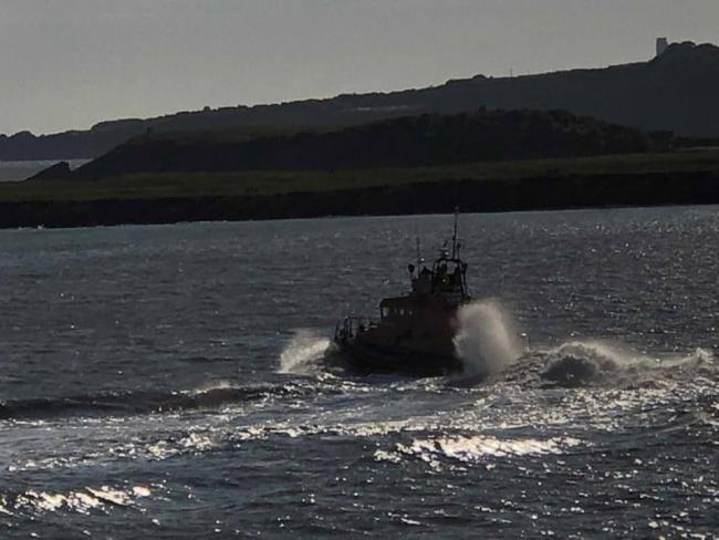 Barry lifeboat and coastguard will be on call